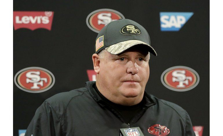 49ers despiden a su entrenador Chip Kelly
