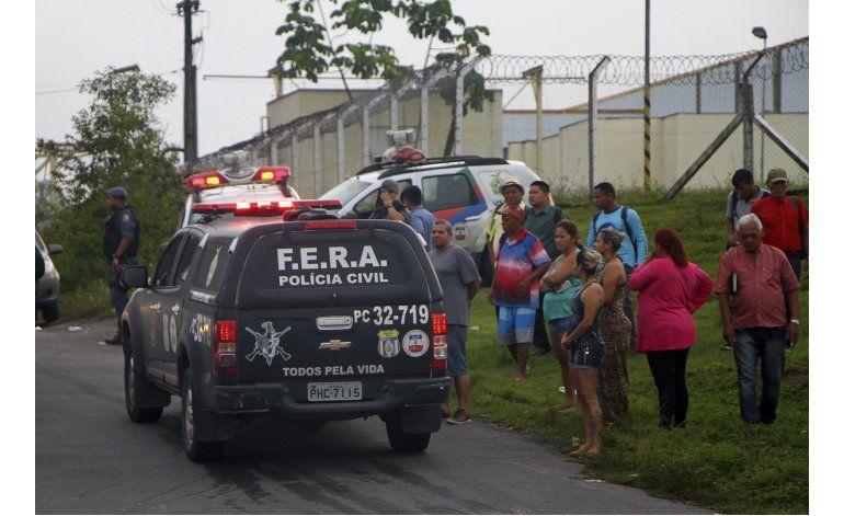 Motín en prisión de Brasil deja al menos 56 muertos