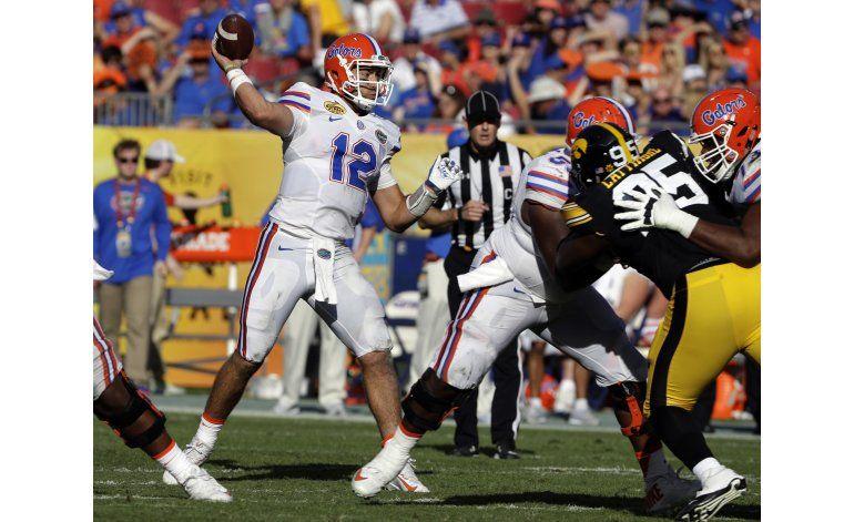 Florida rompe mala racha y gana el Outback Bowl
