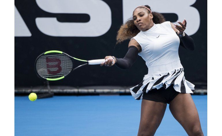 Serena Williams gana su primer match en Auckland