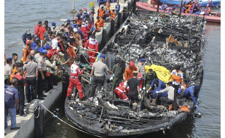 Indonesia: Detenido capitán de ferry tras incendio letal