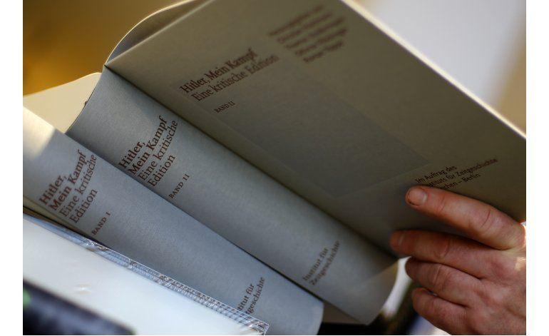 Versión crítica de Mein Kampf, best seller en Alemania