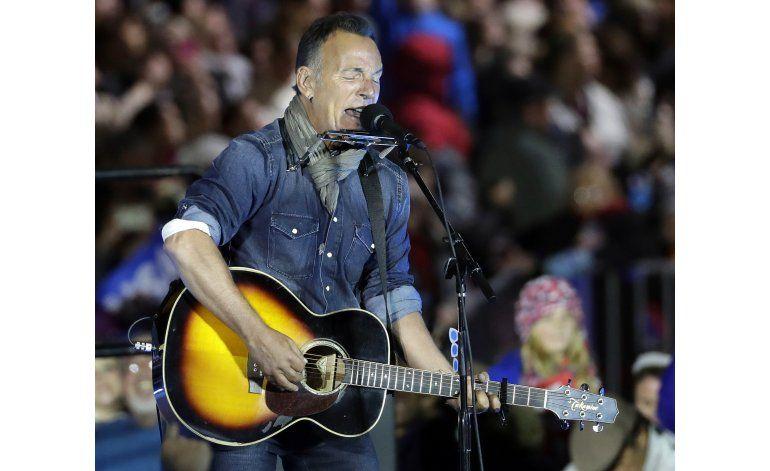 Springsteen cuestiona capacidad de Trump para la presidencia