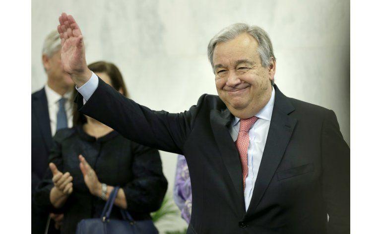 Nuevo jefe de ONU dice que no hago milagros