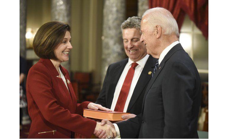 Cortez Masto asume como primera senadora latina y de Nevada