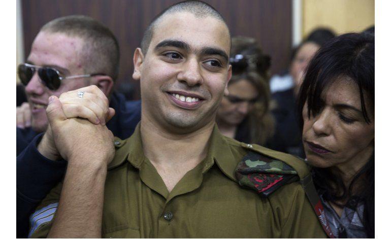 Soldado israelí hallado culpable de muerte de palestino