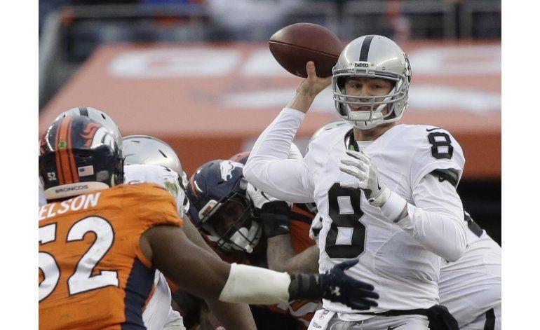 Cook será el quarterback titular de los Raiders ante Texans
