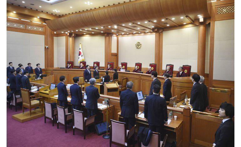 Corea del Sur: Comienza juicio político contra la presidenta