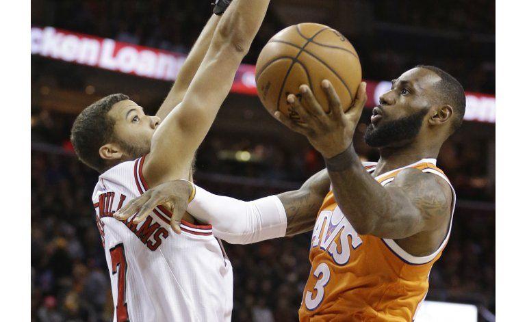 Butler comanda triunfo de Bulls sobre los mermados Cavaliers