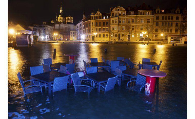 Tormentas dejan crecidas, daños en costa alemana del Báltico