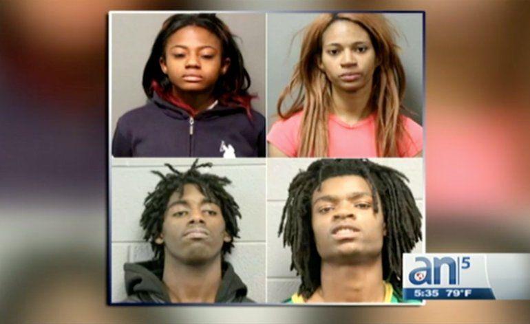 Brutal ataque de afroamericanos a hombre blanco es transmitido en vivo por Facebook