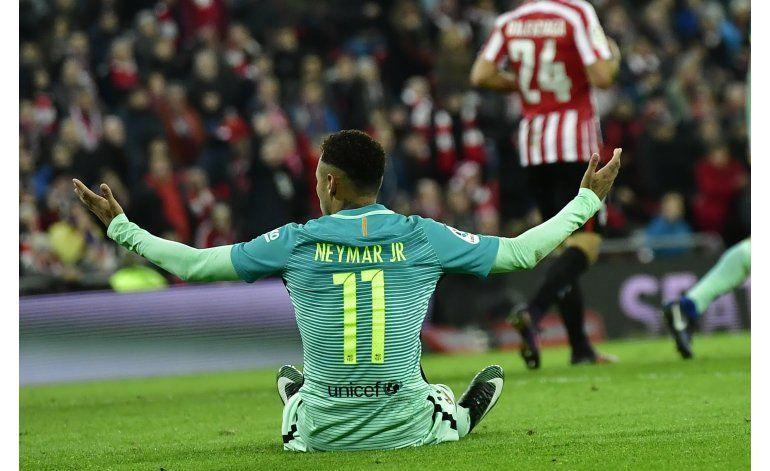 Copa del Rey: Un Athletic con 9 hombres vence al Barcelona