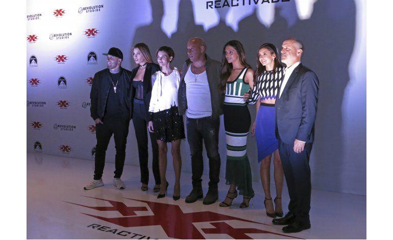 Vin Diesel presenta en México xXx: Return of Xander Cage