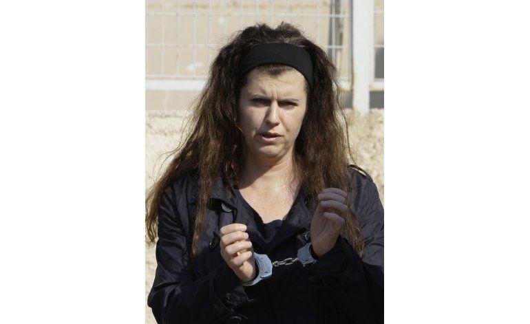 Extremista griega inicia huelga de hambre