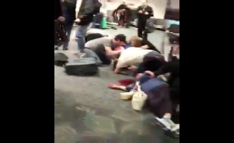 Publican vídeo del tiroteo en aeropuerto de Fort Lauderdale