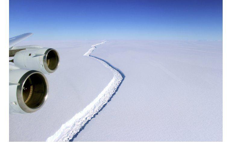No preocupa a científicos crecimiento en grieta de Antártida