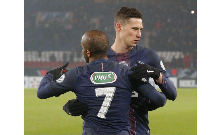 PSG tritura 7-0 a Bastia en la Copa de Francia