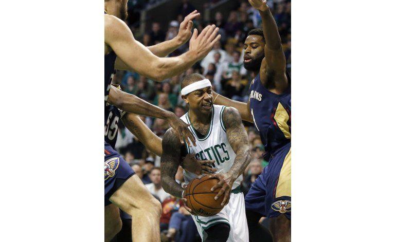 Thomas luce con 38 puntos y Celtics vencen a Pelicans