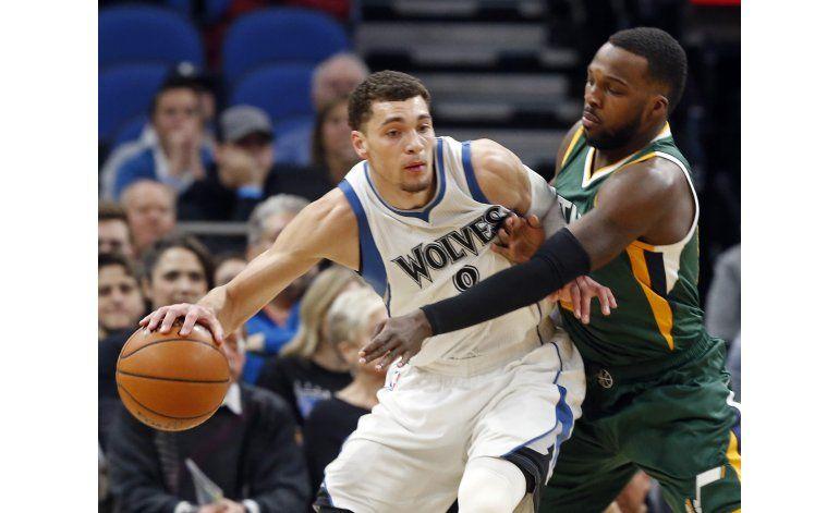 Jazz borra desventaja de 11 puntos y vence a Timberwolves