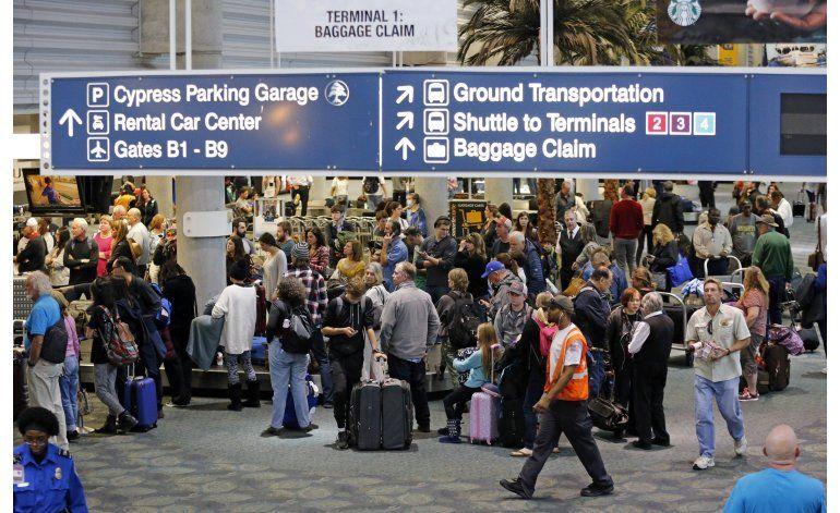 Zonas públicas de aeropuertos, las más vulnerables a ataques