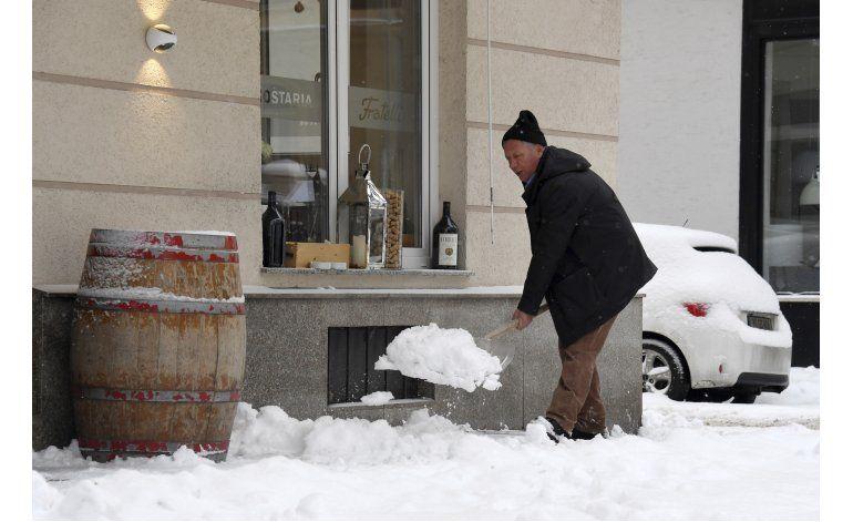 Ola de frío agobia a europeos