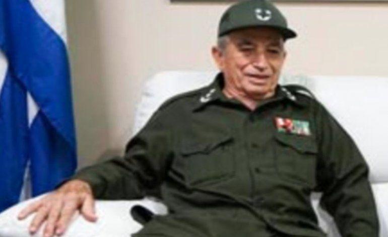Fallece ministro cubano del Interior Carlos Fernández Gondín