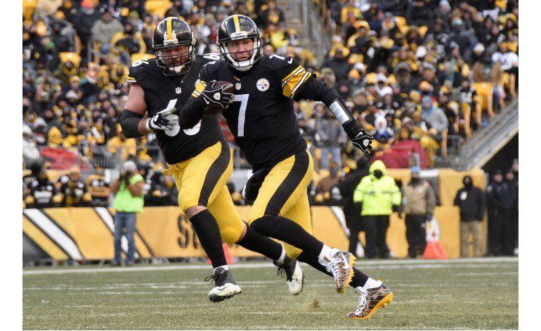 Con sus 3 astros, Steelers eliminan a Dolphins