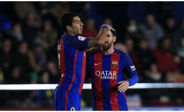 Messi rescata agónico empate para el Barcelona en Villarreal