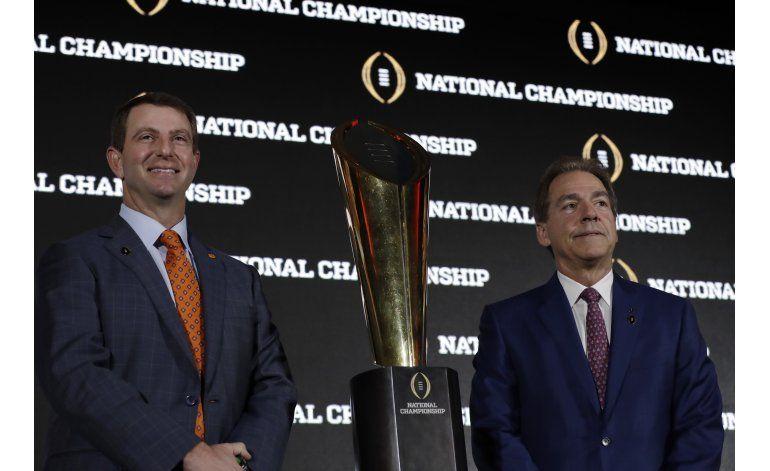La dinastía de Alabama, otra vez ante Clemson en la final