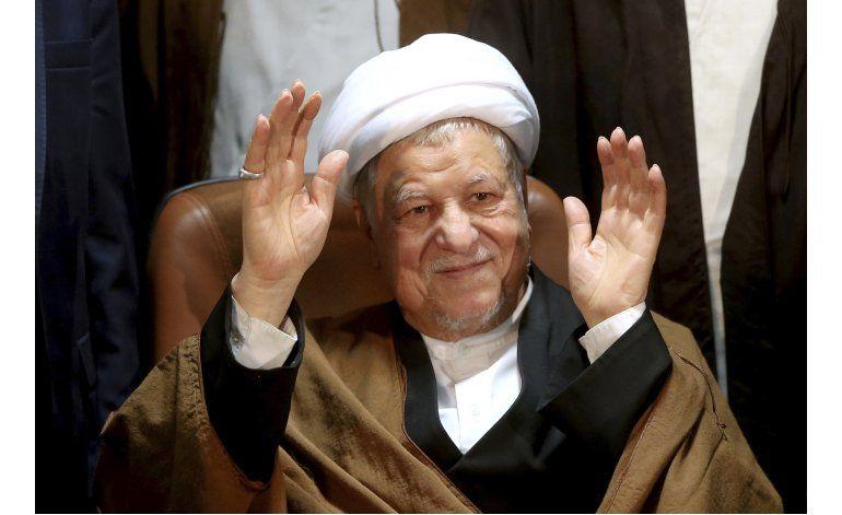 Influyente expresidente iraní Rafsanjani muere a los 82 años