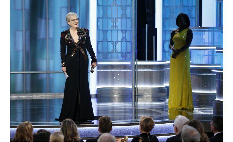 Streep y Trump intercambian críticas en medio de los Globos