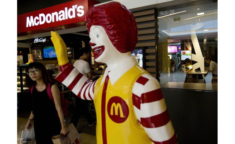 McDonalds vende parte de su negocio en China por 2.100 mlns