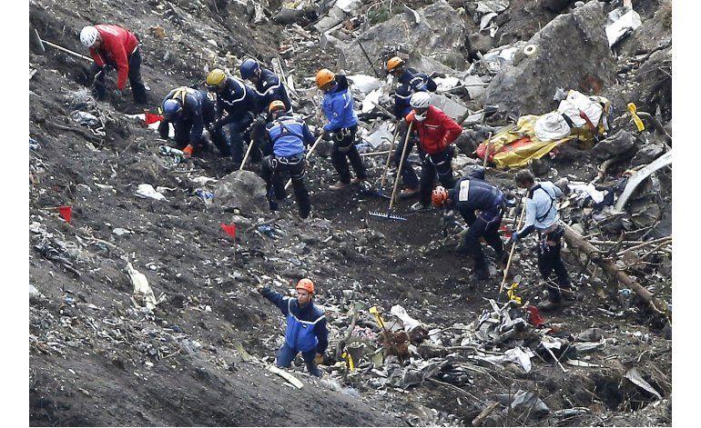 Fiscalía alemana cierra pesquisa sobre choque Germanwings