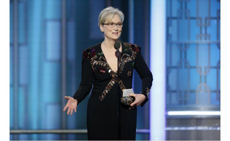Trump se inmiscuye en otra pelea, ahora contra Meryl Streep