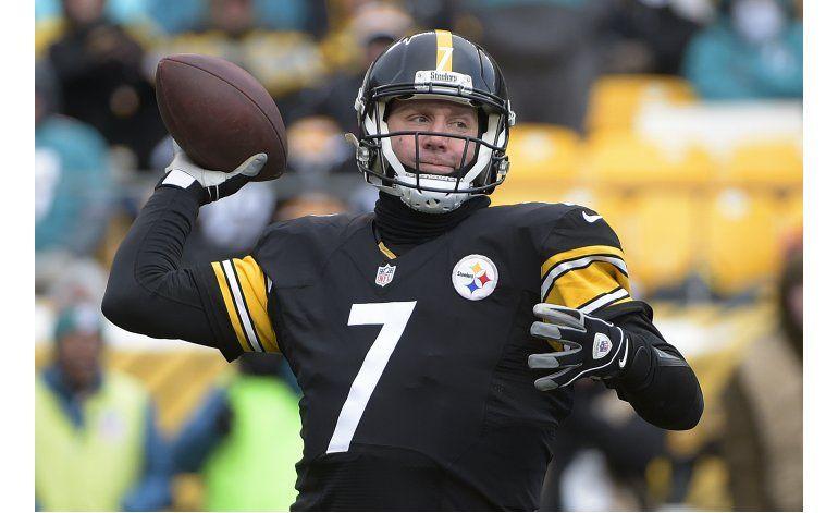 Steelers no se inquietan por pie de Roethlisberger