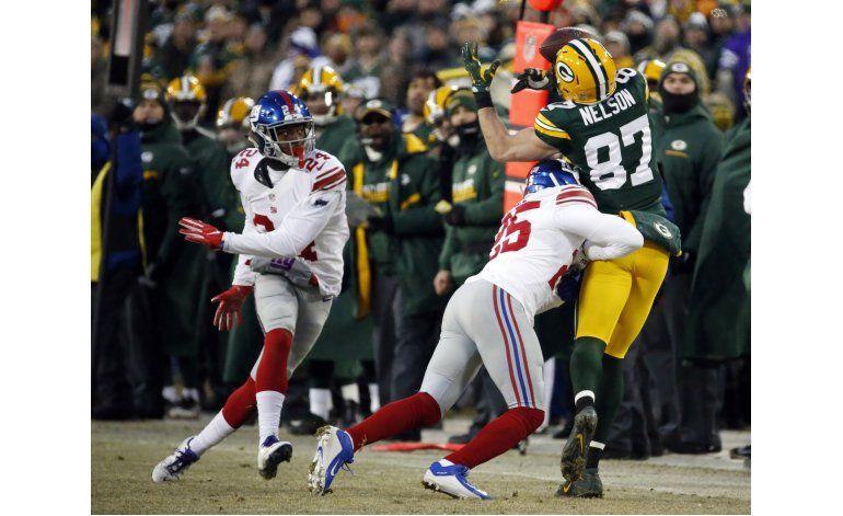 Nelson, receptor de Packers, se perderá entrenamiento