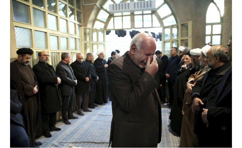 Iraníes se congregan para funeral de expresidente Rafsanjani