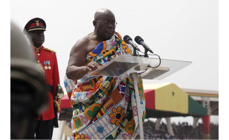 Ghana: Presidente plagia Clinton, Bush en discurso inaugural