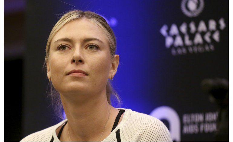 Sharapova volverá a jugar tenis en abril, tras ser castigada