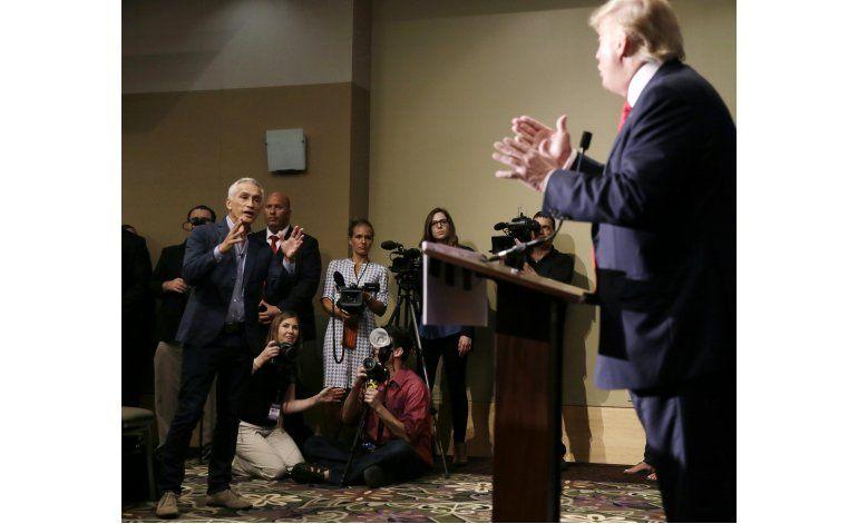 Trump se reúne con ejecutivos de Univision