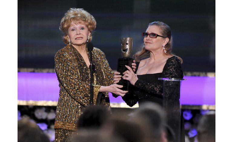 Certificado de defunción de Debbie Reynolds confirma derrame