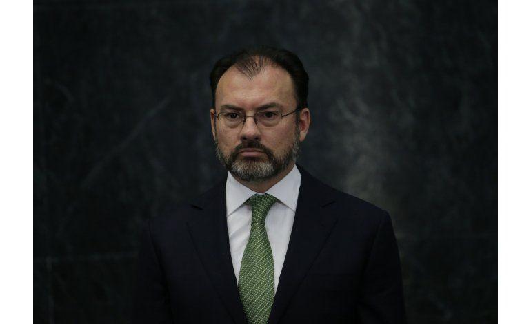 Canciller Videgaray dice que México negociará con Trump