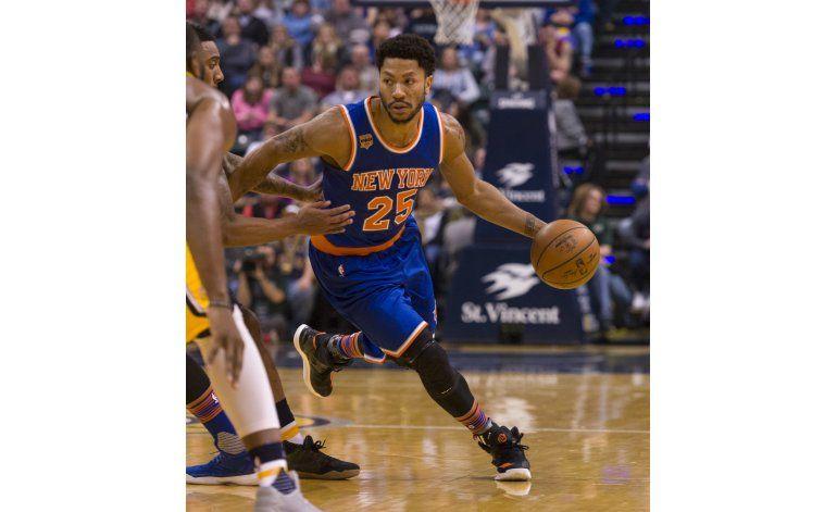 Rose es multado por perderse juego de Knicks