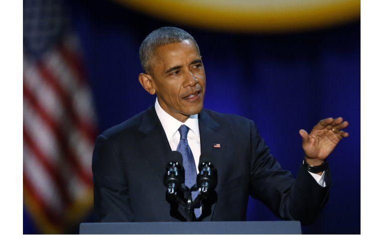 Discurso de Obama, conteo final de una presidencia histórica