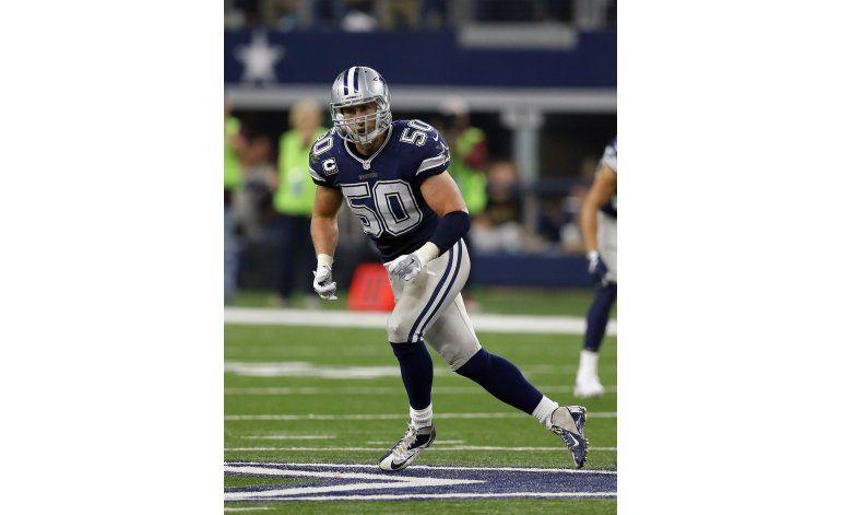 Lee, líder defensivo de Cowboys, está al fin en playoffs