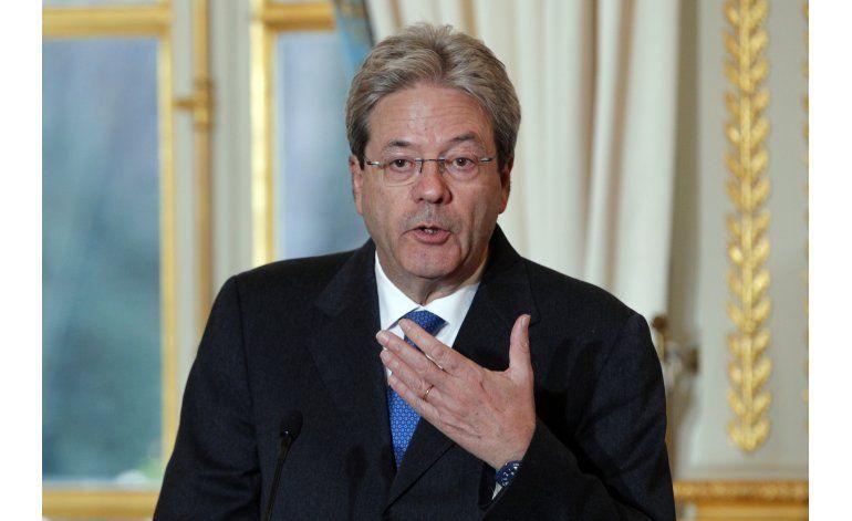 Italia: Hospitalizan al primer ministro Paolo Gentiloni