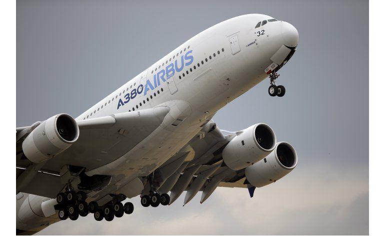 Airbus aumenta sus entregas en 2016, recibe menos pedidos