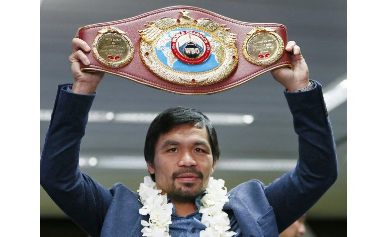 Manny Pacquiao regresa al ring el 23 de abril