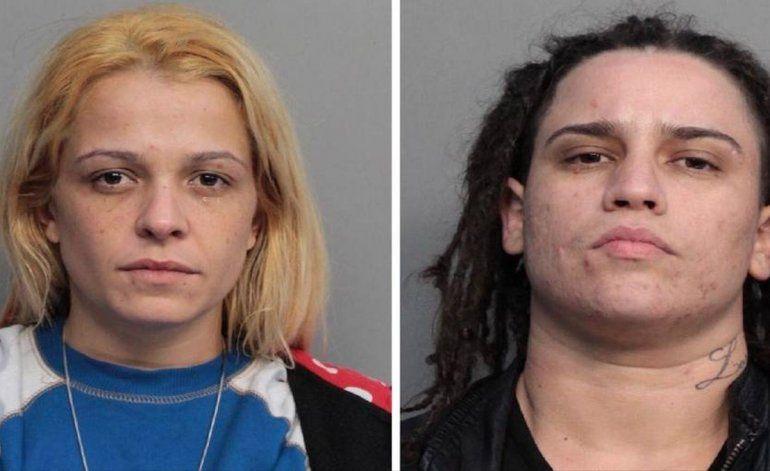 Atrapan en Hialeah a cubanas que utilizaron a una niña para robar