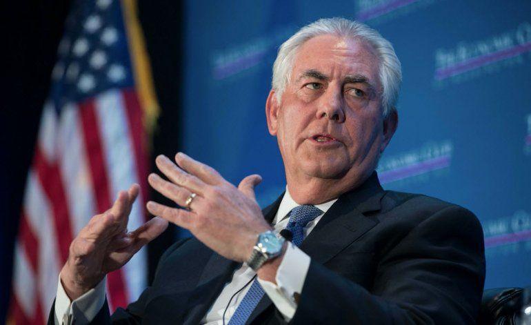 Tillerson critica acercamiento con Cuba y exige postura firme sobre derechos humanos